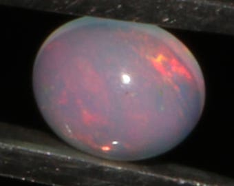 0.45  CTS Natural Ethiopian Opal Canochon Welo Fire Opal loose Gemstone Cabochon Fire Opal Good Quality Opal ##50