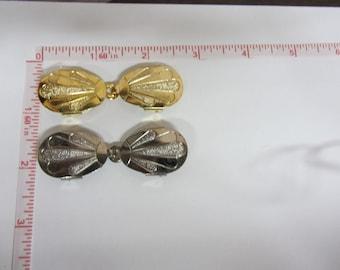 Silver / Gold Metal Closure Accessory, Metal Fastener