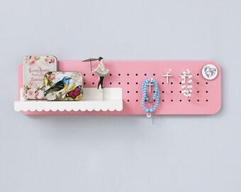 Key holder – Pegboard - Key hooks - Entryway organizer - Entryway storage - Entryway decor - Magnetic board