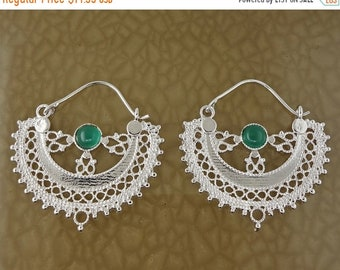 ON SALE Circle of Infinity, 24K Platinum Plate, Jeweler's Brass Earrings, Good Luck Amulet Free Shipping