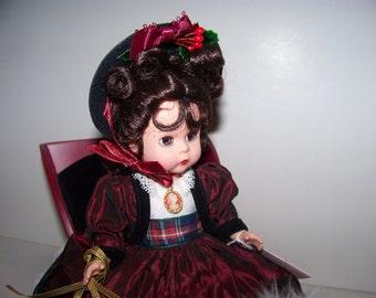 Sleigh Ride Wendy w sleigh horse, 8 inch Madame Alexander doll set