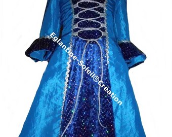 "Princess dress ""STARRY night"" custom"