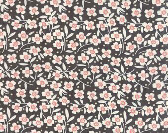 Farmhouse Midnight Polka Dot Daisy 20253-18 by Fig Tree and Co for Moda Fabrics