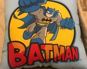 Handsewn BATMAN pillows