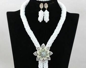 New Elegant Wedding Beads Set