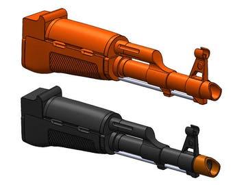AK-47 Front End for Nerf Gun