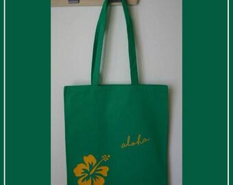 Cotton - beach bag shopping bag