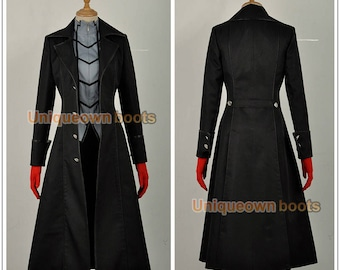 Men's Persona 5 Kaitou Cosplay Costumeblack with gloves