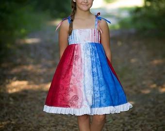 July 4th lauren baby/girls dress