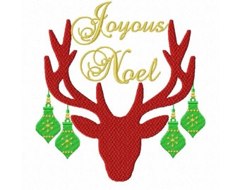 Joyous Noel...Instant Download...Pattern Fill Machine Embroidery DESIGN NO. 728