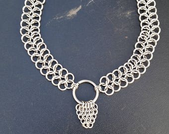 CHAINMAIL Choker with o-ring