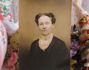 Antique Vintage Photograph-Miss Honeycutt the Teacher