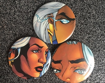Storm, X Men Comic Buttons, Ororo Munroe, X Men Rogue, X Men Comic, Vintage Marvel Comic