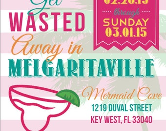 Wasted Away in Margaritaville Invite (Digital)