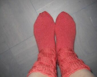 New handmade in Ukraine hand knit 50% wool socks