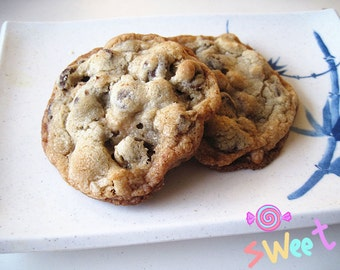 New year gift cookies ----Homemade Ultimate Chocolate Chip Cookies--Chocolate cookies---Homemade Autum cookies---one dozen