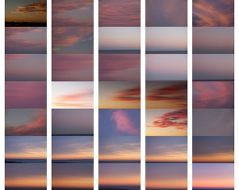 600+  Australian skies for 4.95 Digital Sky Overlays dreamy pastels or dramatic fiery Australian skies digital background