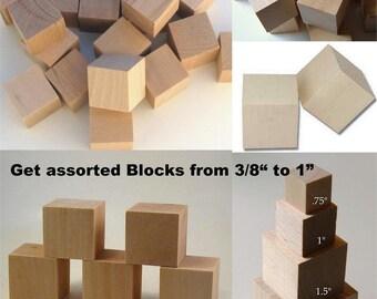 15 3/4 inch birch wooden blocks-Cubes-Parrot toys