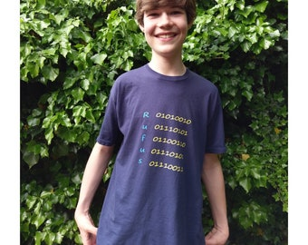 Your name in binary t-shirt