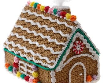 Gingerbread House Crochet Christmas Pattern PDF Download Gourmet Crochet