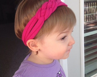 T-Shirt Headband - multiple colors available