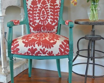 Customizable French Chair