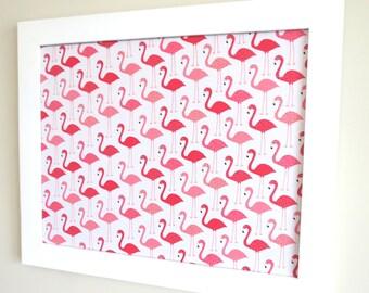Flamingos Pin Board Jewelry Board Wall Organizer