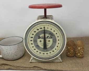 Vintage Way-Rite Household Scale Kitchen Scale