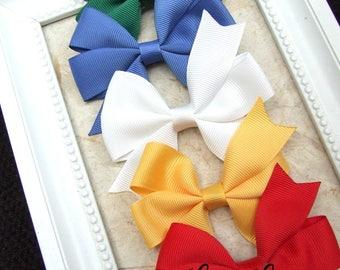 Classic Pinwheel Hair Bows, BEST SELLER, School Bows, Hair Bow Clips, Toddler Girl, Girl Hair Clips, Teen Hair Clips