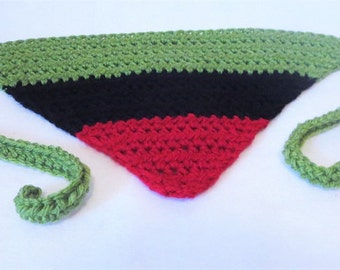 Bandanas etsy pan africa kerchief red black and green bandana africa crochet du rag dt1010fo