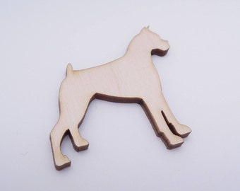 Wooden Dog Shape for Crafts - Laser Cut - Dog Lover Gift - Blank Dog - Dog Shape