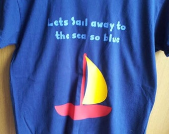 Unique Personalised kids t-shirts,