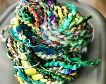 HandSpun, Bulky,  Art Yarn