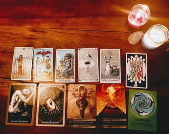 3 card Short and Sweet Guided Intuitive Tarot Reading [no specific question/situation]