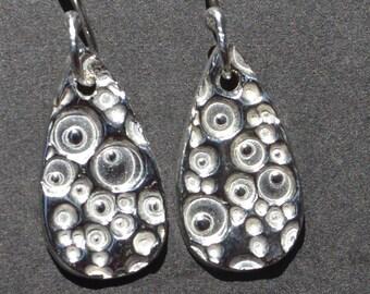 Sterling Silver Bubbles Earrings