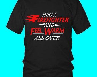 Gift For Firefighter, Fireman Shirt, Fire Fighter Gift, Fire Department Gift, Awesome Firefighter, Proud Firefighter, Fire Rescue, Volunteer