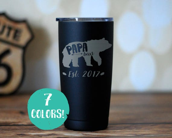 Papa Bear Insulated Tumbler