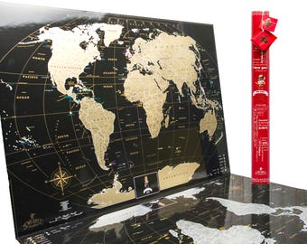Deluxe scratch map etsy love edition deluxe black scratch off map travel map easters easter gift gift gumiabroncs Images