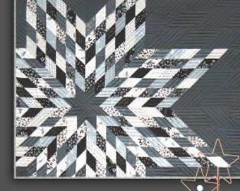 Mega Star Quilt pattern Designed by Zen Chic