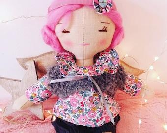 Linen Antoinette doll.