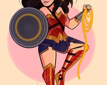 Wonder Woman (Print)