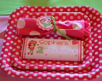 Strawberry Shortcake Candy Wrapper