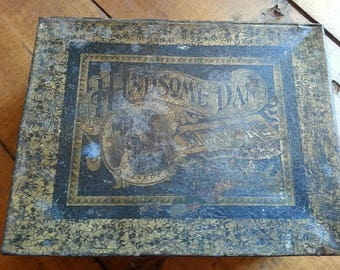 Vintage Handsome Dan Tobacco Tin