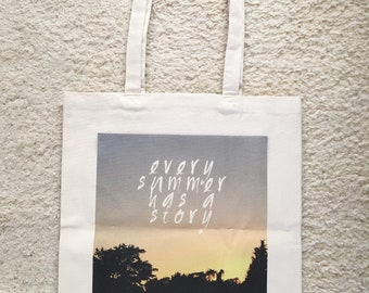 Tote bag: summer