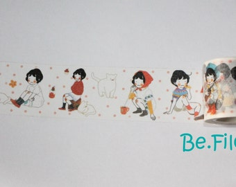 Heeda girls washi sample