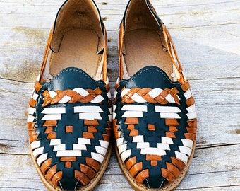 Huaraches, Sandals, leather sandals, turquoise sandals, slip ons, loafers, espadrilles, bohemian sandals
