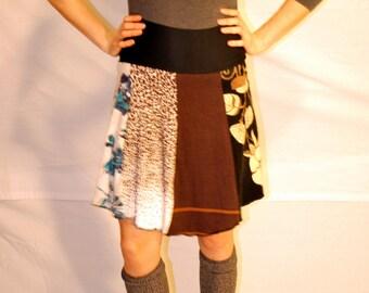 Recycled sweater skirt medium   sm0013