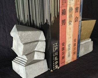 Free Shipping - Concrete Bookend (building)