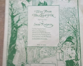 Tales From The Land of Oz vintage sheet music