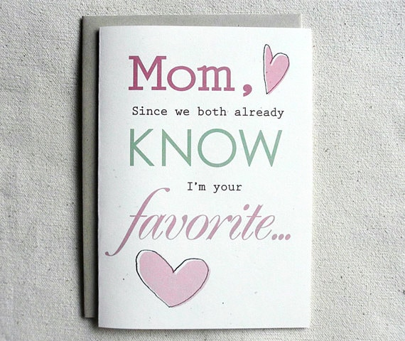 Mother Birthday Card Funny Mom Since We Both Already Know